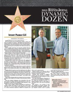 2013 Dynamic Dozen No. 1: Integrity Pharmacy LLC